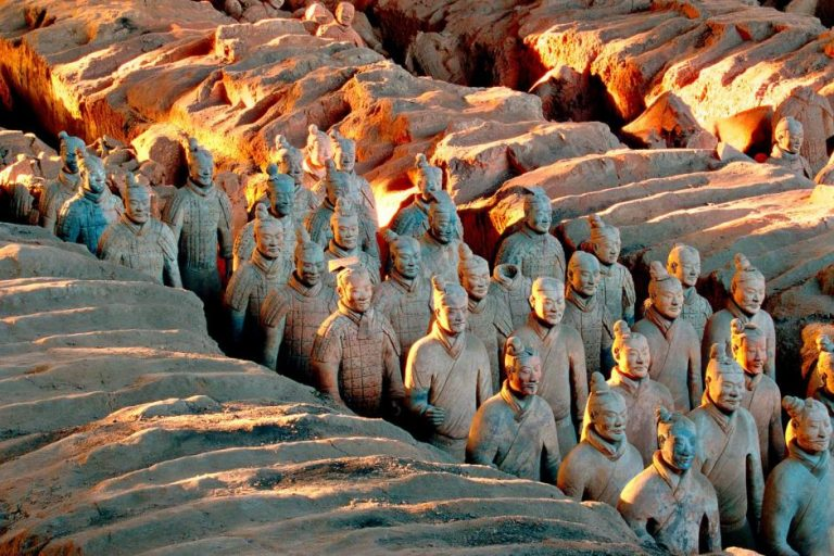 """Xi'an, China"" Source:https://www.abc.net.au/news/2018-12-17/terracotta-army-qin-dynasty-emperor-qin-shihuangs-tomb-china/10626132"